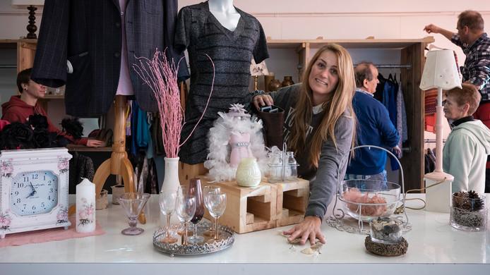 Angelique de Rouw heeft onlangs een nieuwe kringloopwinkel aan de Boschweg in Schijndel geopend.