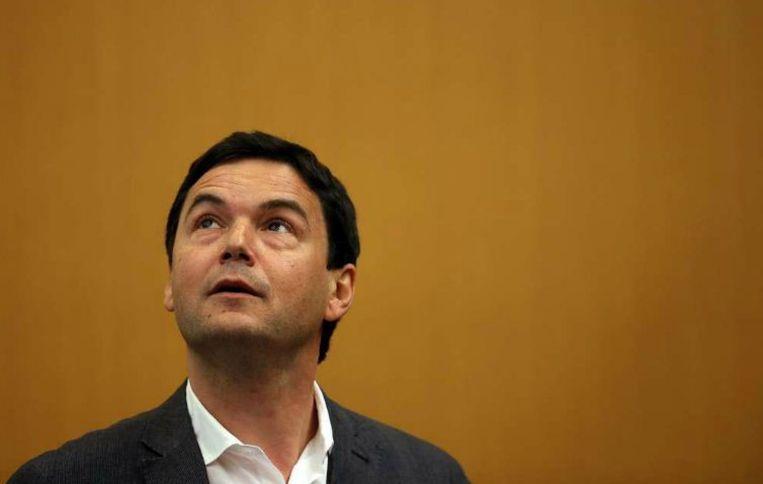 De Franse econoom Thomas Piketty is, zo blijkt, nog steeds druk bezig met de thema's die hem zo'n drie jaar geleden tot mondiale hype maakten. Beeld anp