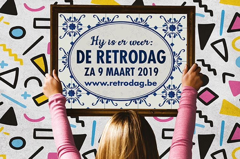 De affiche van Retrodag.