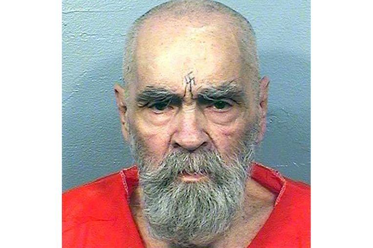 Charles Manson in augustus dit jaar.