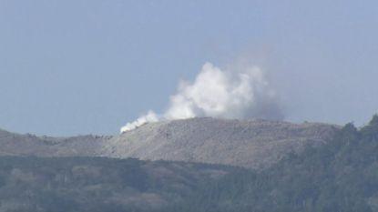 Vulkaan in Japan barst uit na 250 jaar stilte