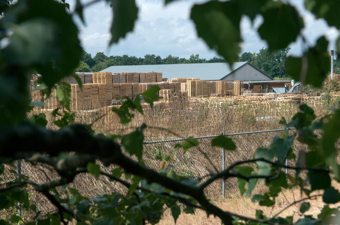 Ten Hove Pallets ligt in het groen, tussen de campings. Niet ideaal, vindt Bedrijvenkring Ermelo. Foto ter illustratie.