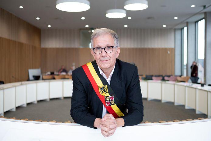 Burgemeester Paul Verbeeck, al 20 jaar burgervader van de Nijlenaars.