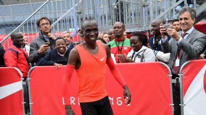 Eliud Kipchoge last rustpauze in en laat verstek gaan voor WK atletiek