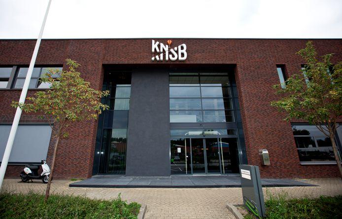 Het KNSB bondsbureau in Utrecht.