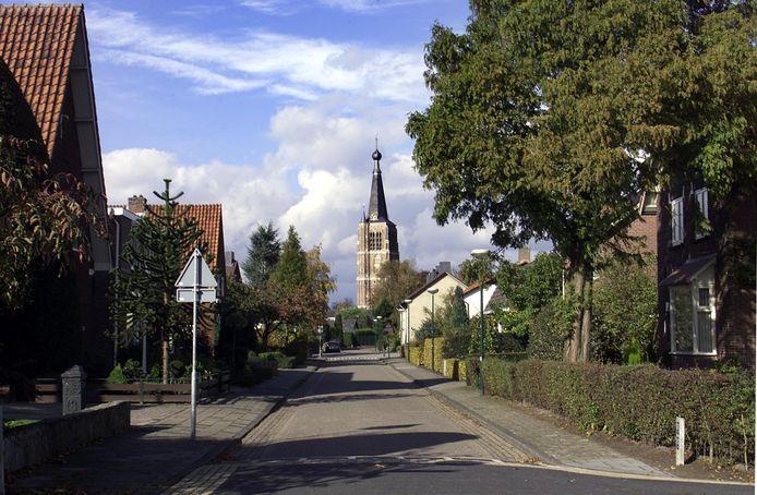 De St-Petrus'Bandenkerk van Leende, ook wel de Lindse Blaos genoemd.