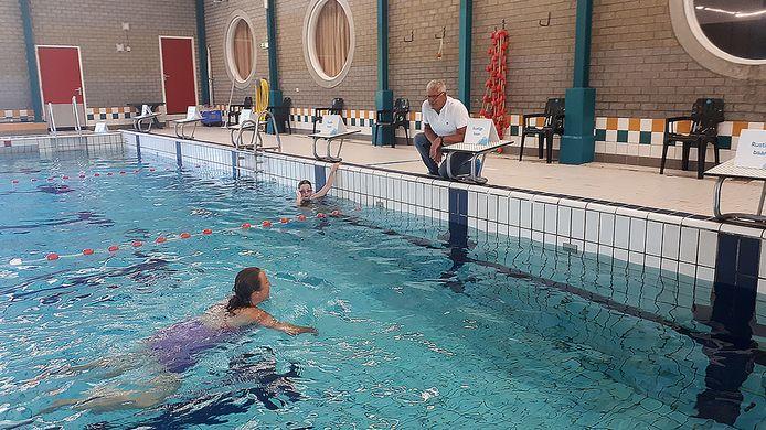 Frank Holterhues van de Hoge Devel: ,,Baantjes zwemmen kan, maar inhalen is verboden.''