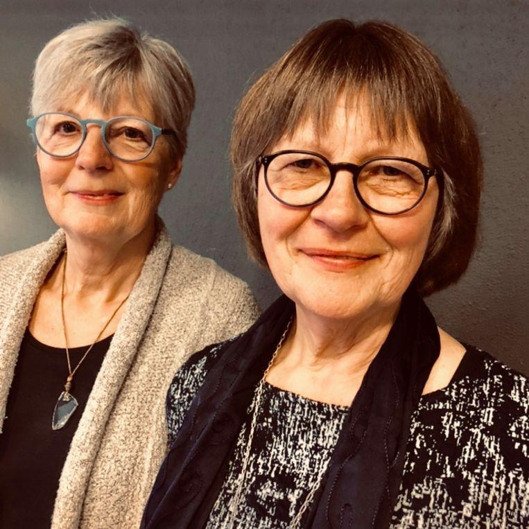 Gemma Geertshuis (links) en Noks Nauta Beeld