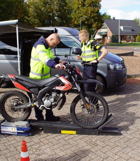 Politie schrijft 164 bonnen uit bij grote controle in Aalten