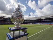 Uitwedstrijden voor UNA, Gemert, Best Vooruit en NWC in kwalificatieronde KNVB-beker