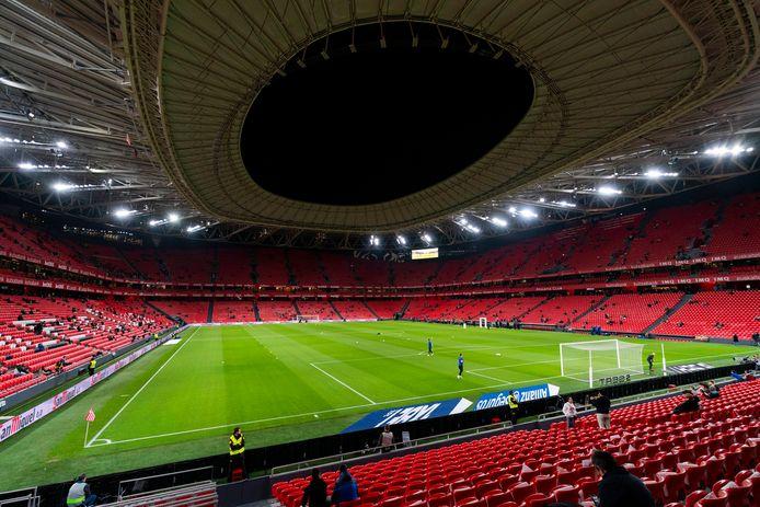 San Mamés, het stadion van Athletic Club uit Bilbao.