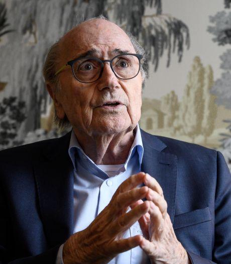 Blatter hersteld van corona: 'Klaar om weer te vechten'