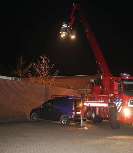 Afzuiger van bakkerij in brand in Heeswijk-Dinther