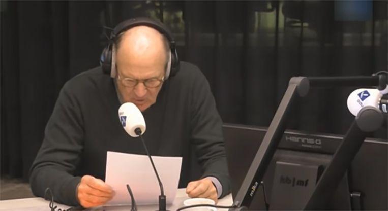 Philip Freriks heeft tijdens het Radio 1-programma OVT live te horen gekregen dat zijn wekelijkse column wordt stopgezet.