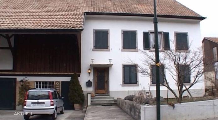 De woning van de oud-burgemeester in Metzerlen.