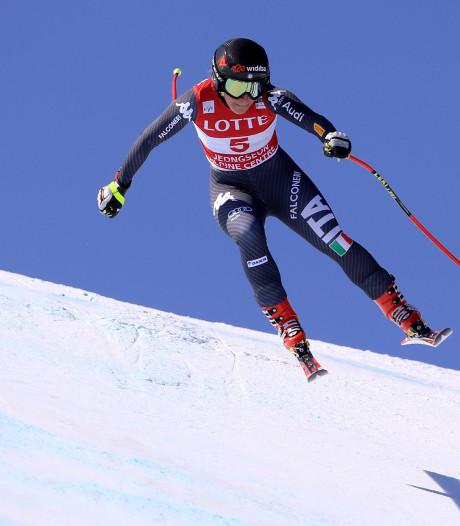 Olympisch kampioene Goggia mist start skiseizoen door enkelbreuk