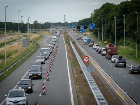 Voortekenen voor avondspits rond Arnhem ongunstig: nu al flinke vertragingen