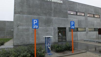 Parkeerplaatsen voor campers aan Oostbroek