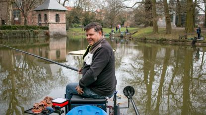 Weer viswedstrijden in kasteelvijver