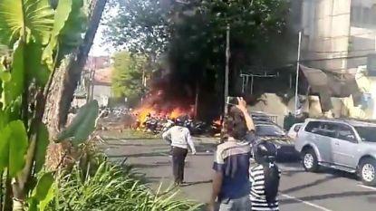 Zelfmoordgezin blaast Javaanse kerken op