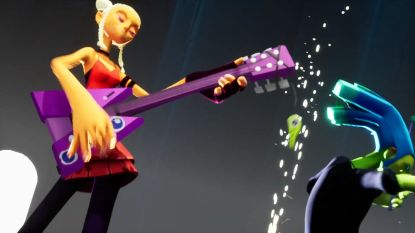 Rockers vechten tegen 'boenkmuziek' in originele nieuwe game