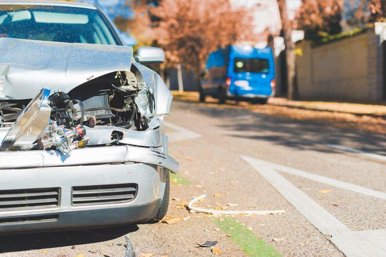 Beeld ter illustratie, auto-ongeluk.