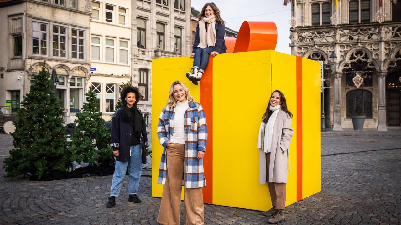 'Make 2020 Great Again': Frances Lefebure roept Vlaanderen op om een kerstcadeau te schenken aan kinderen in armoede