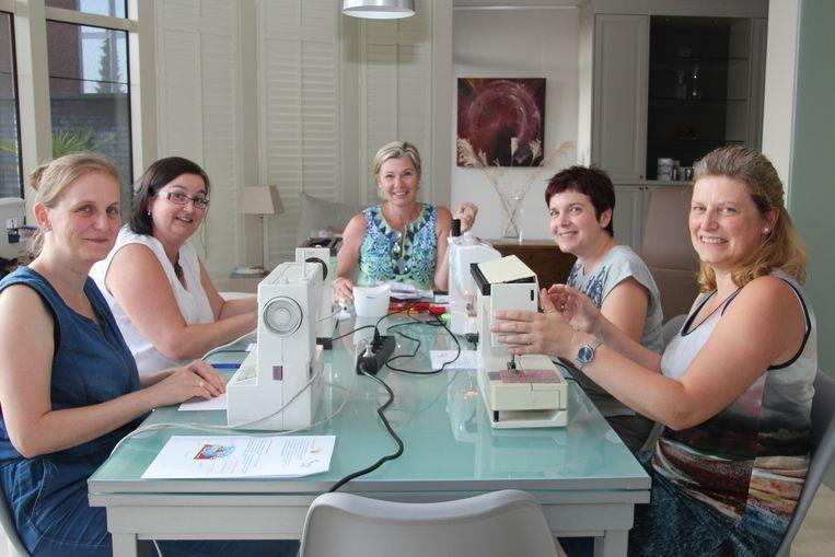 Anneke Van den Bossche geeft als Mum's at work verschillende workshops.