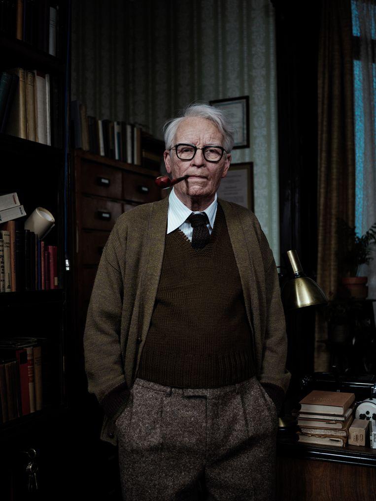 Lutz Ebersdorf als psychotherapeut Josef Klemperer. Beeld