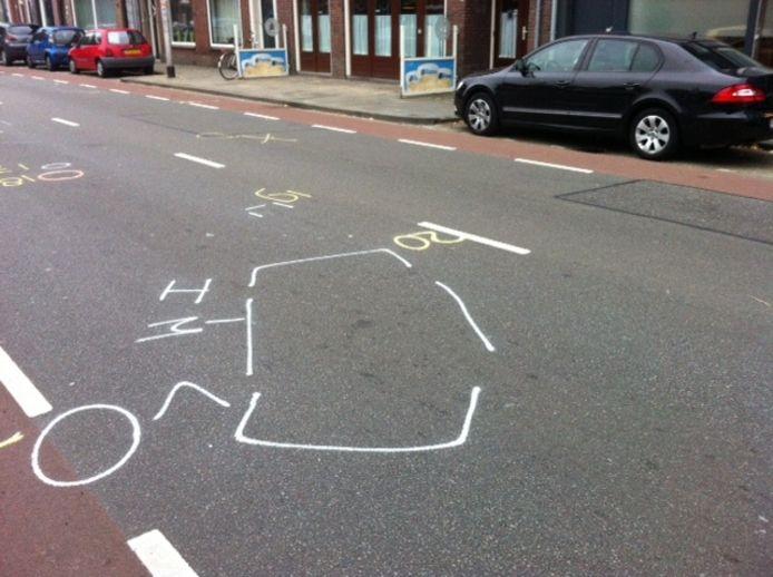 De plek op de Bredaseweg waar de vrouw van het echtpaar uit Rijen om het leven kwam.