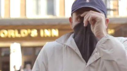 Privacy? Londense politie test camera's met gezichtsherkenning en deelt meteen boete uit aan man die gezicht verbergt
