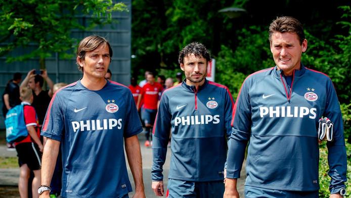 Philip Cocu, Mark van Bommel en Ruud Hesp