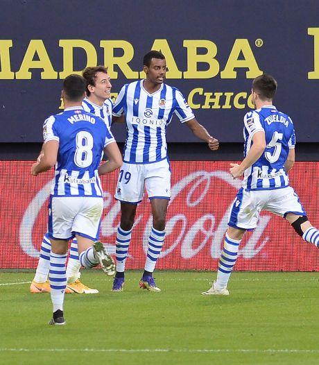 AZ-opponent Real Sociedad wint zesde La Liga-duel op rij, Granada onderuit