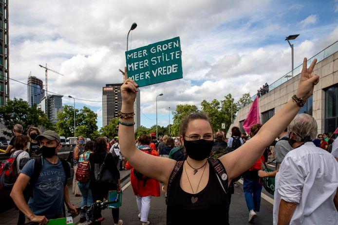Manifestation pour le climat à Bruxelles (archives).