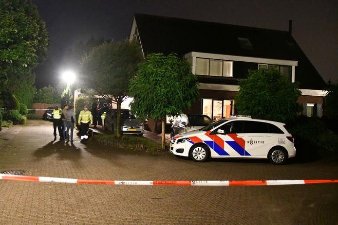 De politie deed vorig jaar onderzoek bij de woning aan de Magnolialaan in Ermelo.
