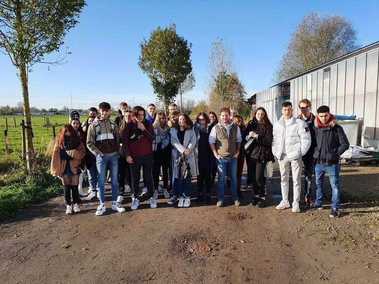 Vorige week was er nog een klas van het Lycée Marcel Gimond uit Aubenas te gast.