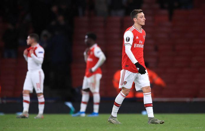 Arsenal won tegen Eintracht Frankfurt voor de zevende keer op rij niet.