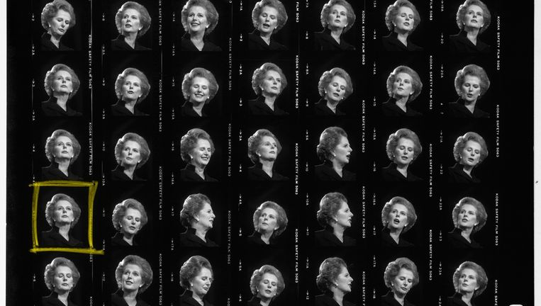 Margaret Thatcher Beeld Peter Parlow / Magnum Photos