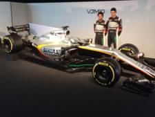 Force India showt VJM10 met opvallende bochel