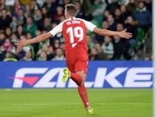 Luuk de Jong de held van Sevilla met winnende goal in derby bij Real Betis