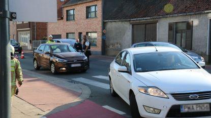 Geen gewonden bij kop-staartaanrijding tussen drie voertuigen