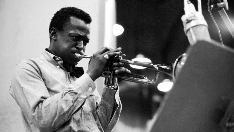 Miles Davis tijdens de opnames voor Kind of Blue. Beeld ap