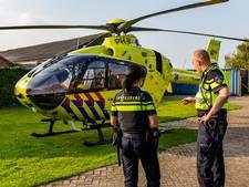 Man met allergische reactie opgehaald met traumahelikopter in Oosterhout