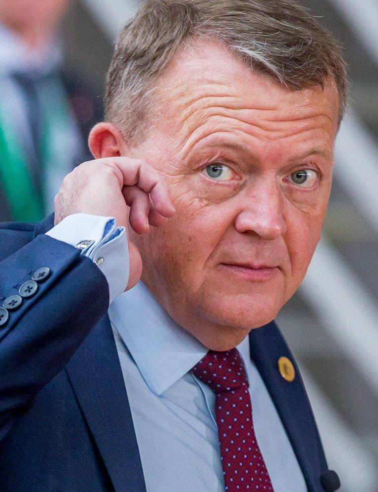 De Deense premier Lars Rasmussen Beeld null