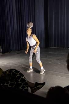 Baltovenaar Nasser El Jackson in Helmond: Bal als metafoor voor het leven