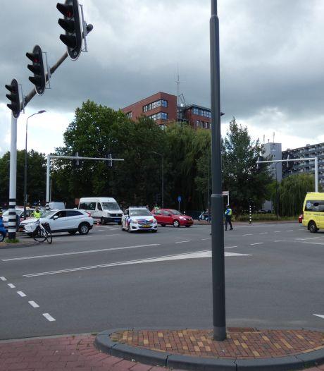 Meisje op de fiets aangereden door auto in Veenendaal