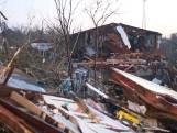 Tornado richt enorme schade aan in Alabama