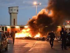 Chaos in Franse gevangenissen tijdens protest cipiers
