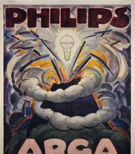 Expositie over Philips-reclames: 'Philips kocht kunstenaars, zoals ze nu voetballers kopen'