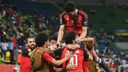 Laat doelpunt bezorgt Egypte van Trezeguet de volle buit tegen Oeganda